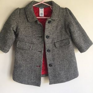 Old Navy 12-18 month girls peacoat
